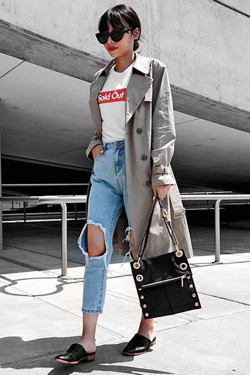 jeans con zapatos looks mules