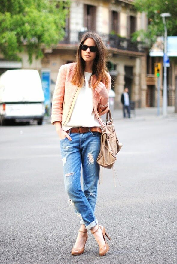 jeans con zapatos looks
