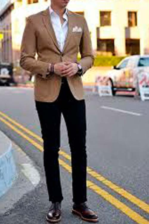 looks y outfits zapato marron