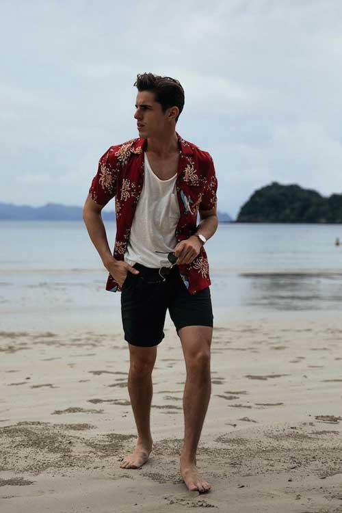 outfit camisa verano