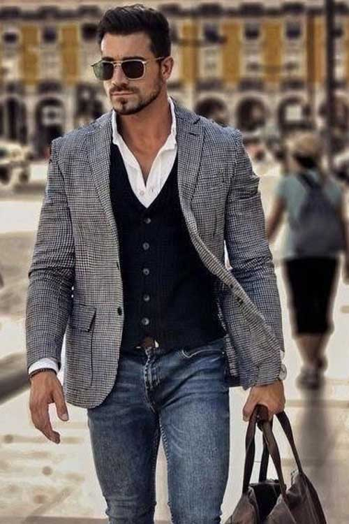 outfit casual con camisa